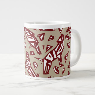 Desert Spirit Animals Mug - Lizard Coyote Raven