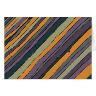Desert Stripes Custom Notecard