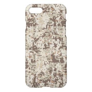 Desert Style Camouflage Beige Decor iPhone 7 Case