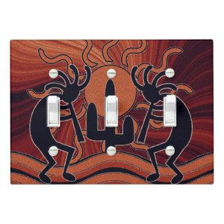 Desert Sun Cactus Southwest Kokopelli Light Switch Cover
