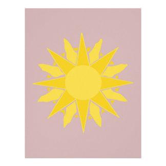 Desert Sun! Personalized Letterhead