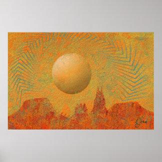 Desert Sun Poster