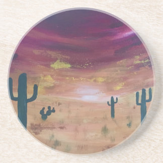 Desert Sunset Coaster
