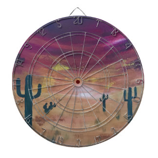 Desert Sunset Dartboard
