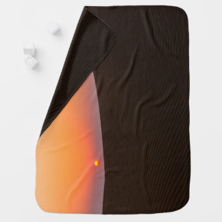 Desert sunset in Dubai Baby Blanket