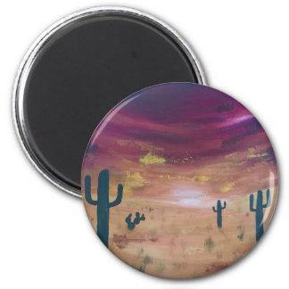 Desert Sunset Magnet