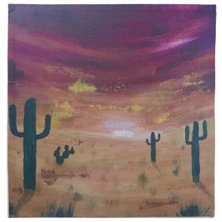 Desert Sunset Napkin