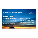 Desert Sunset near Historic Route 66 Business Card Templates
