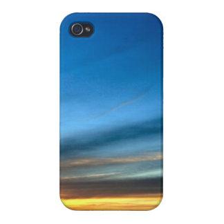 Desert Sunset near Historic Route 66 Cover For iPhone 4