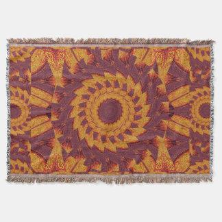 Desert Sunshine 4 Throw Blanket