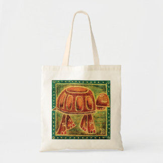 Desert Tortoise in Oil Pastel Tote Bag
