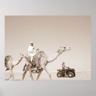 desert  transportation poster