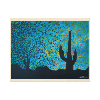 Desert Twilight Canvas Print