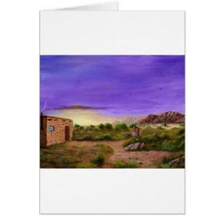 Desert Walk Card