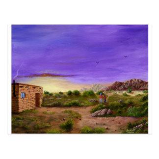 Desert Walk Postcard