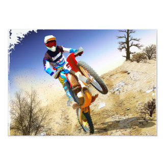 Desert Wheelie Motocross Card