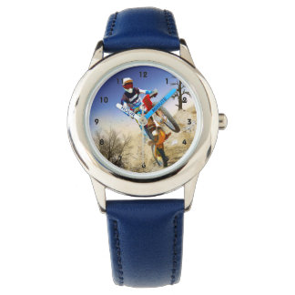 Desert Wheelie Motocross Watch