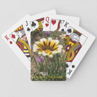 Desert Wildflowers Playing Cards