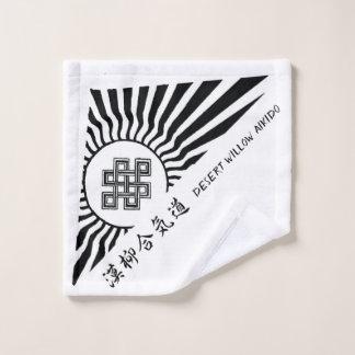 Desert Willow Aikido washcloth Wash Cloth