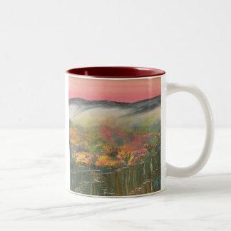 Desert Window Two-Tone Coffee Mug