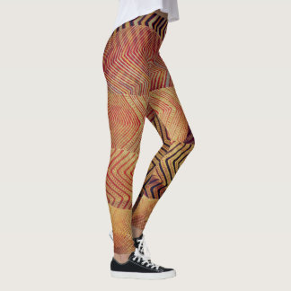 desert zigzag prints leggings