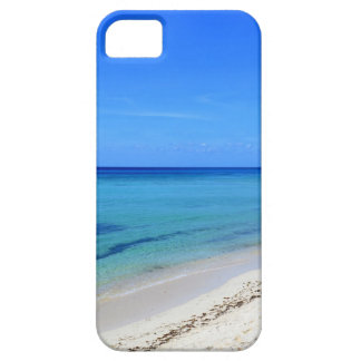 Deserted Cosumel Beach Calm Teal Water White Sand Case For The iPhone 5