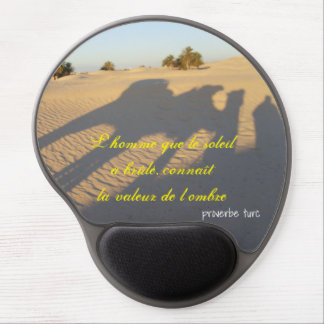 """""""deserted"""" mouse mat Turkish proverb"""