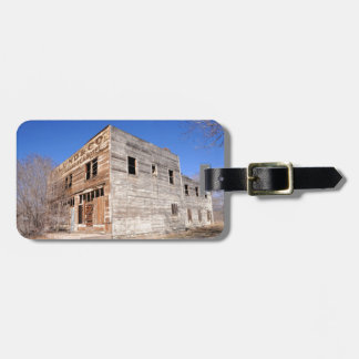 Deserted Store and Hotel  - Utah Bag Tag