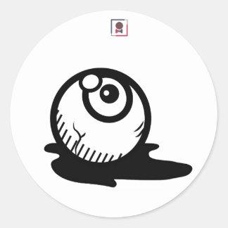 DesEYEn Classic Round Sticker
