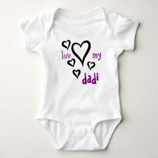Desi Baby - Luv My Dadi 1 Baby Bodysuit