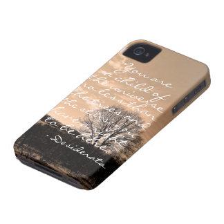 Desiderata poem inspirational saying quote nature iPhone 4 Case-Mate cases