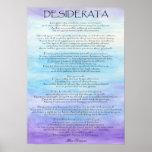 Desiderata Posters