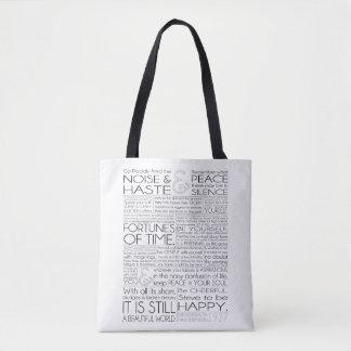 Desiderata Tote Bag