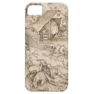 Desidia (Sloth) by Pieter Bruegel the Elder iPhone 5 Cover