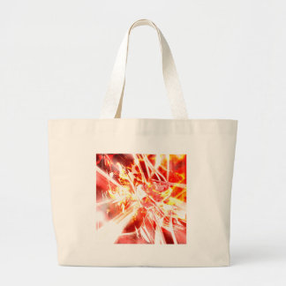DESIGN9 SET3 orange Large Tote Bag