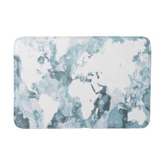 Design 103 world map bath mat