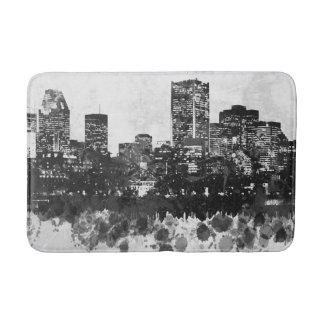 Design 47 cityscape skyline bath mat