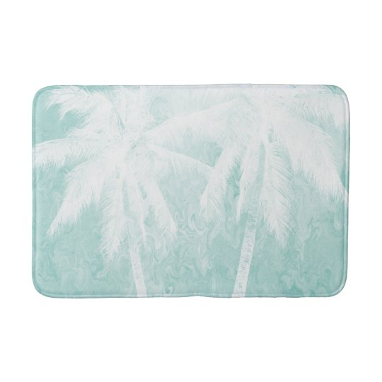 Design 54 Palm tree Bathroom Mat
