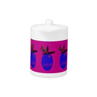 Design ananases pink blue