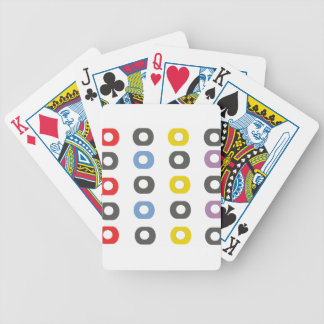 Design apple bicycle playing cards