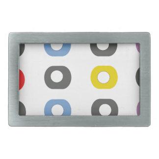 Design apple rectangular belt buckle