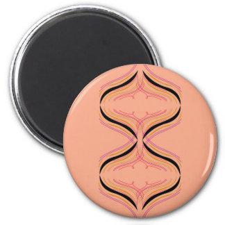 Design arabic Orange Magnet