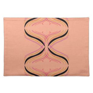 Design arabic Orange Placemat
