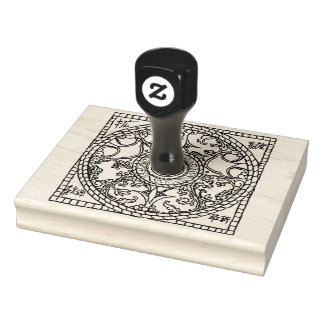 Design, Asian influence -- (Large) Rubber Stamp