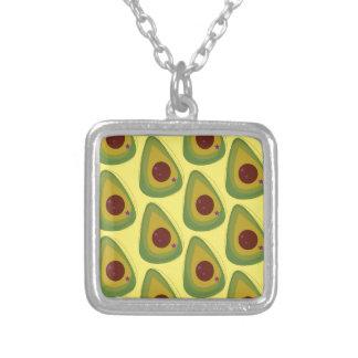 Design avocados gold pieces silver plated necklace