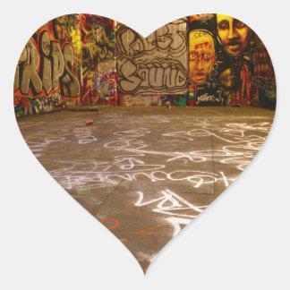Design Background illustration Heart Sticker