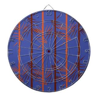 Design bamboo blue dartboard