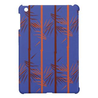 Design bamboo blue iPad mini case