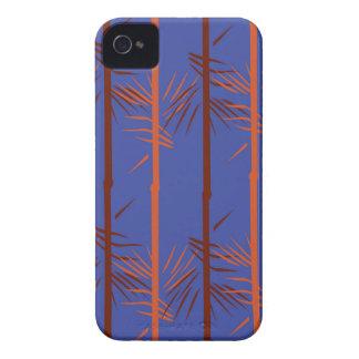 Design bamboo blue iPhone 4 case