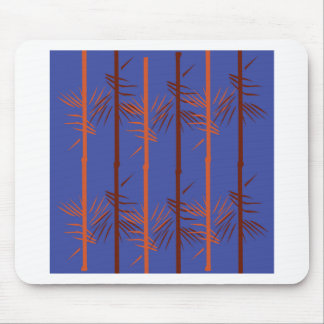 Design bamboo blue mouse pad
